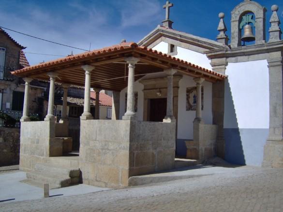 Alpendre da capela de Sao Marcos